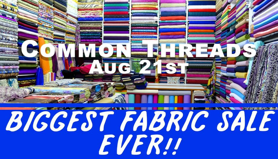 Read more about the article Common Threads Fabric Sale!